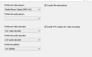 Скачать мега кодек пак для windows 7. K-Lite Codec Pack: где скачать, как установить