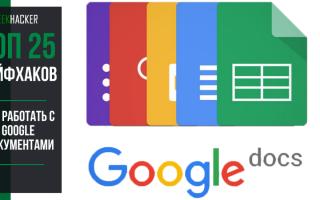 ТОП-25 Лайфхаков для Эффективной Работы с Google Docs