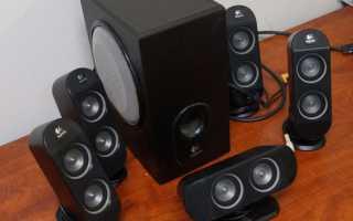 Как подключить акустику 5.1 к компьютеру — настройка звука 5.1 в Windows 7/10