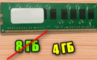 Почему доступно меньше оперативной памяти чем установлено?
